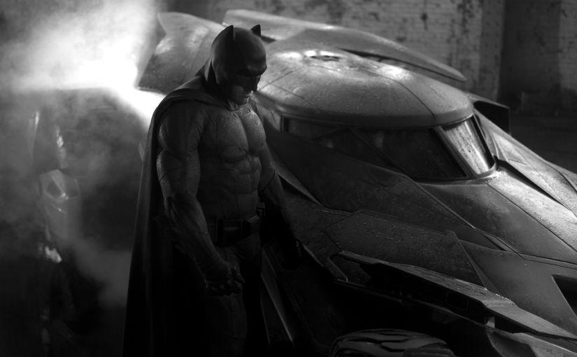 Première Image du Batfleck de Batman VSSuperman