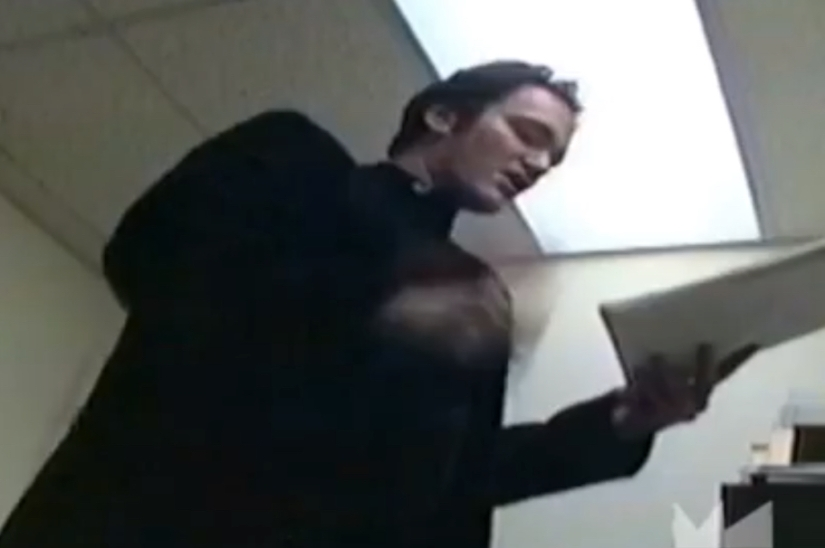 Watch Never-Before-Seen Footage Of Quentin Tarantino Reading His 'Kill Bill' First Draft To Robert Rodriguez In1994
