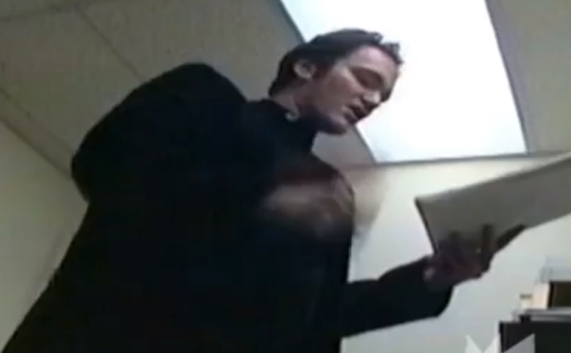 Watch Never-Before-Seen Footage Of Quentin Tarantino Reading His 'Kill Bill' First Draft To Robert Rodriguez In 1994